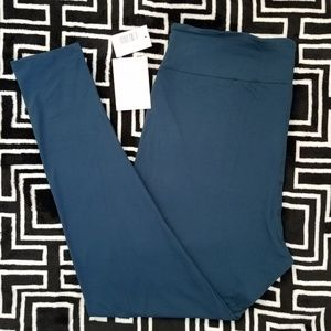 NWT LuLaRoe TC2 Leggings Solid Peacock